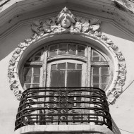 Ruse Bulgaria,Balcony decoration