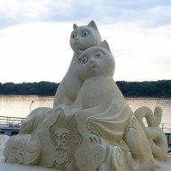 Ruse Bulgaria,cats to the Danube