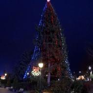 Ruse Bulgaria,Christmas tree from 2017