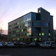 Bulgaria,Evening at the Tax Office Ruse