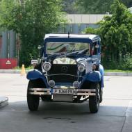 Ruse Bulgaria,old Mercedes