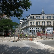 Bulgaria,repair of the center of Ruse