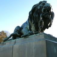 Ruse Bulgaria,the center-left lion,