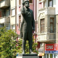 Ruse Bulgaria,the Monument to Angel Kanchev