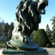 Ruse Bulgaria,the center-right lion