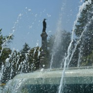 Ruse Bulgaria,the center-Fountain
