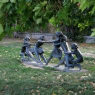 Sculptural composition,Ruse Bulgaria