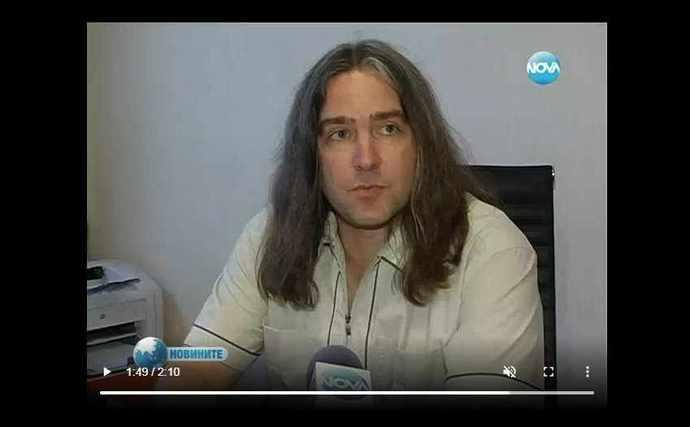Нова телевизия,интервю с Павел Йончев